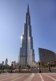 Burj Khalifa. Tallest building in the world Stock Photo