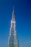 Burj Khalifa. The Tallest Building in the World Royalty Free Stock Photo