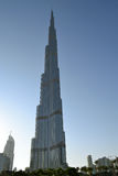 Burj Khalifa. One of the tallest in the Dubai & the world royalty free stock images
