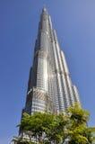 Burj Khalifa,迪拜,阿拉伯联合酋长国 免版税库存照片