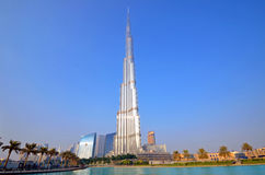 Burj Khalifa Imagem de Stock Royalty Free