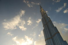 Burj Khalifa. Дубай, ОАЭ Стоковые Фотографии RF