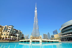 Burj Khalifa Foto de Stock Royalty Free