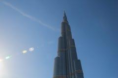Burj Khalifa Fotos de archivo libres de regalías
