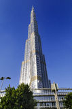 Burj Khalifa and Adress hotel Stock Photography
