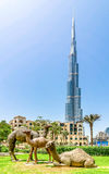 Burj Khalifa building Royalty Free Stock Photos