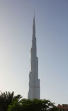 Burj Khalifa building Royalty Free Stock Photo