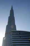 Burj Khalifa/Burj Doubai Fotografia Stock