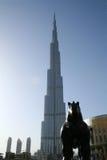Burj Khalifa/Burj Dubaï photographie stock libre de droits