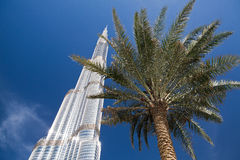 Burj Khalifa (Burj Dubai) Stock Photography