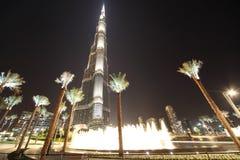 Burj Khalifa (Burj Dubai) skyscraper Stock Images