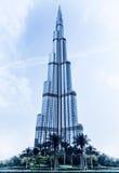 Burj Khalifa byggnad arkivfoton