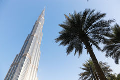 Burj Khalifa. Is currently the tallest building in the world, at 829.84 m 2,723 ft Stock Photos
