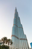 Burj Khalifa. Is currently the tallest building in the world, at 829.84 m 2,723 ft Royalty Free Stock Photos