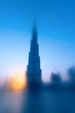 Burj Khalifa is de langste wolkenkrabber in de wereld Stock Foto's