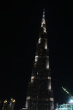 Burj Khalifa den mest högväxta byggnaden i världen Royaltyfria Foton