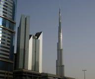 Burj Khalifa (det Khalifa tornet), Dubai Royaltyfri Foto