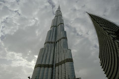 Burj Khalifa (det Khalifa tornet), Dubai Arkivbilder