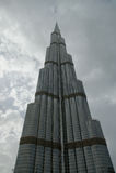 Burj Khalifa (det Khalifa tornet), Dubai Royaltyfri Fotografi