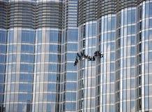 Burj Khalifa Detail Arkivbild