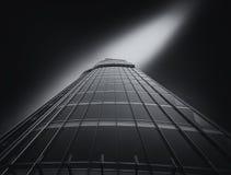 Burj Khalifa die Doubai bouwen stock afbeeldingen