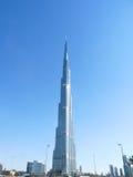 Burj Khalifa Doubai Fotografie Stock