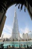 Burj Khalifa, Doubai Immagine Stock Libera da Diritti