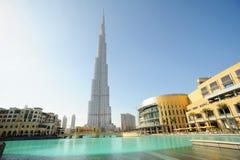 Burj Khalifa in Doubai Fotografia Stock Libera da Diritti