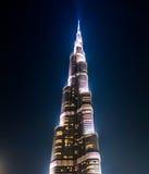 Burj Khalifa in Doubai stock afbeelding