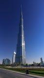 Burj Khalifa in Doubai Fotografia Stock