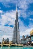 Burj Khalifa, Doubai immagini stock libere da diritti