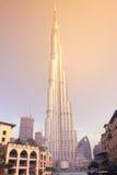 Burj Khalifa, Doubai de V.A.E royalty-vrije stock afbeeldingen