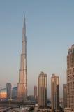 Burj Khalifa Doubai van de binnenstad, de V.A.E Royalty-vrije Stock Foto's