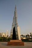 Burj Khalifa in Doubai, Verenigde Arabische Emiraten stock foto's