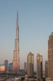 Burj Khalifa downtown Dubai, UAE Royalty Free Stock Photos