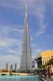Burj Khalifa, Dubaï, EAU Images libres de droits