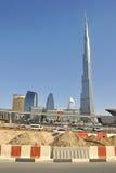 Burj Khalifa, Dubaï, EAU Photographie stock libre de droits