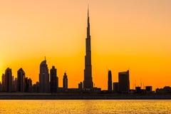 Burj Khalifa, Dubaï, EAU Images stock