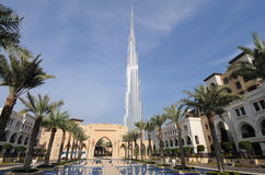 Burj Khalifa, Dubai Royalty Free Stock Photos