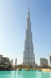 Burj Khalifa in Dubai Royalty Free Stock Image