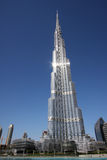 Burj Khalifa in Dubai Royalty Free Stock Photos