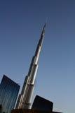 Burj Khalifa in Dubai stock photography