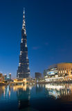 Burj Khalifa in Dubai. UAE. Burj Khalifa is currently the tallest building in the world, at 829.84 m (2,723 ft Royalty Free Stock Images