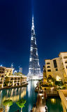Burj Khalifa, Dubai Lizenzfreie Stockfotos