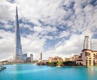 Burj Khalifa, Dubai Foto de Stock