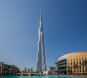 Burj Khalifa Dubai Royalty Free Stock Photography