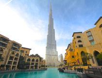 Burj Khalifa, Dubai Fotografia de Stock Royalty Free
