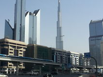 Burj Khalifa, Dubai stockfoto