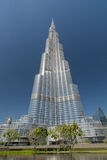 Burj Khalifa - Dubai Arkivfoton