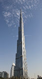 Burj Khalifa Dubai de V.A.E stock fotografie